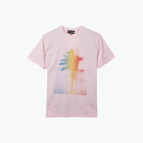 RAINBOUU PALM PINK ICE TEE