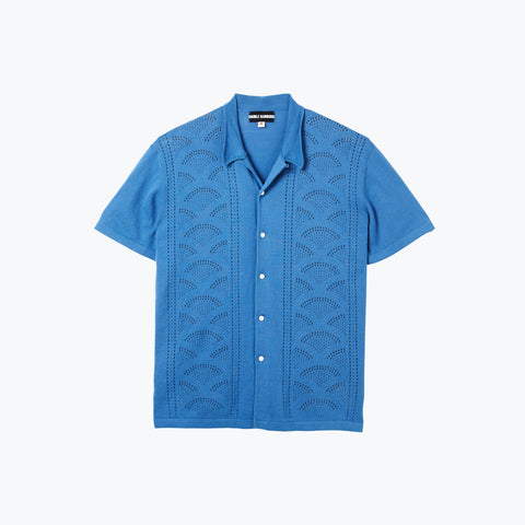 RETRO RAINBOUU DUSK KNIT SHIRT