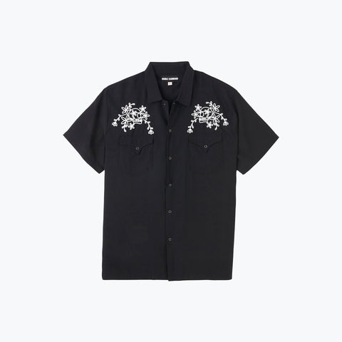 BLACK LOOP SKULL WEST COAST SHIRT
