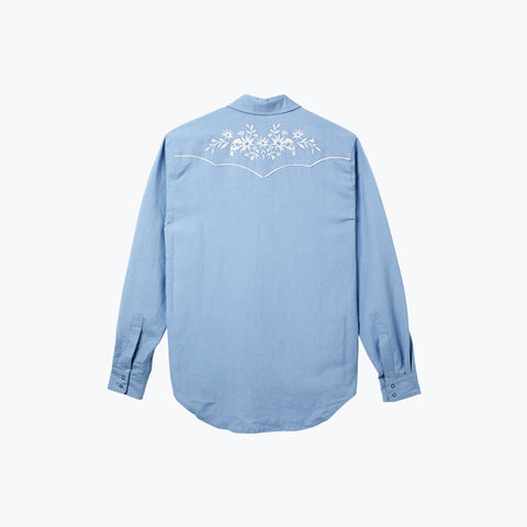 DUSK LONG SLEEVE WEST WORLD SHIRT