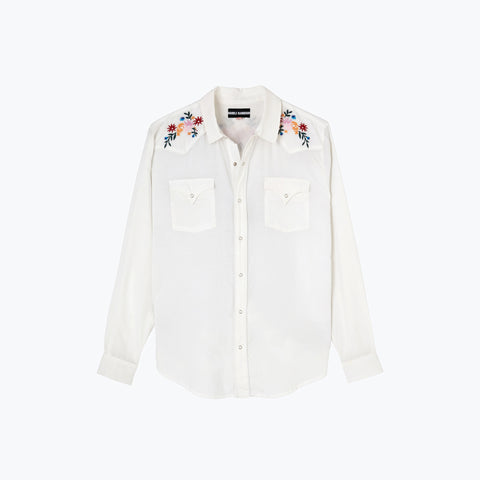 OFF WHITE WEST WORLD SHIRT
