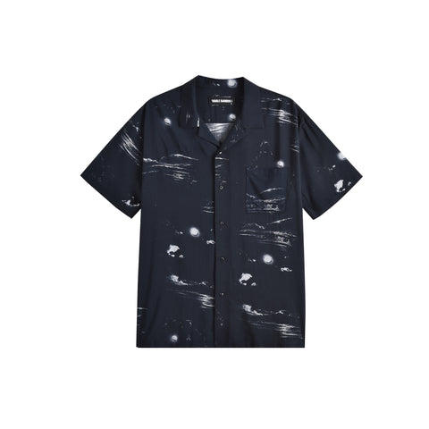 NIGHT WAVE HAWAIIAN SHIRT