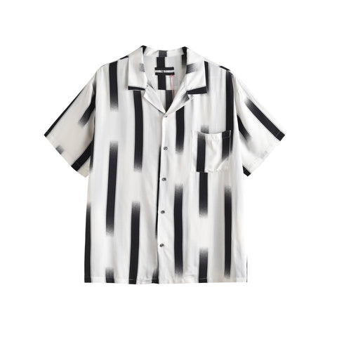 GHOST STRIPE HAWAIIAN SHIRT