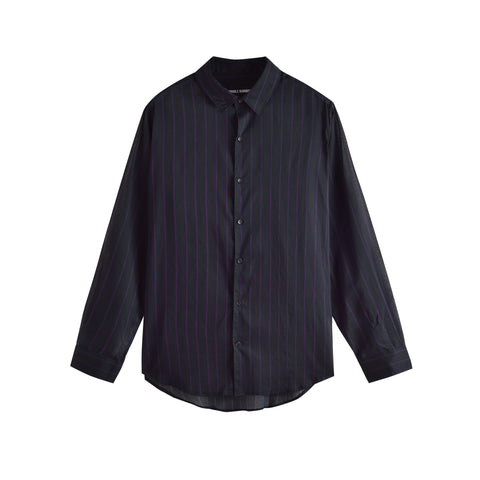 NEEDLE STRIPE SUNDOWN SHIRT