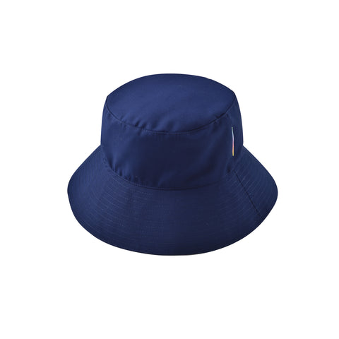 NAVY FLOP TOP HAT