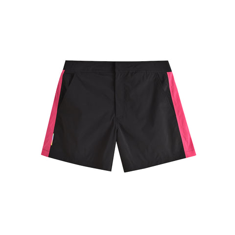 BLACK RASPBERRY POOL SHARK SWIM SHORT
