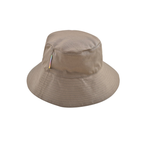 KHAKI FLOP TOP HAT