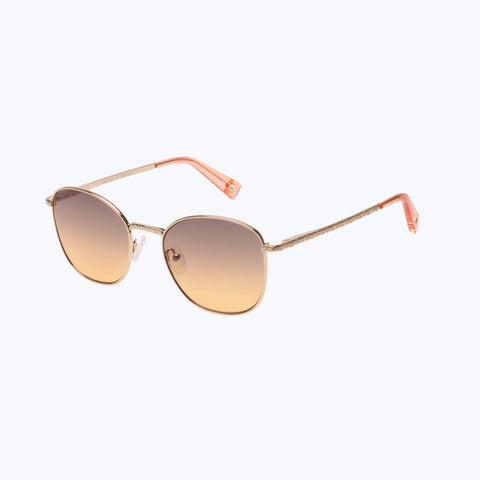 DAY GLO GOLD SUNGLASSES