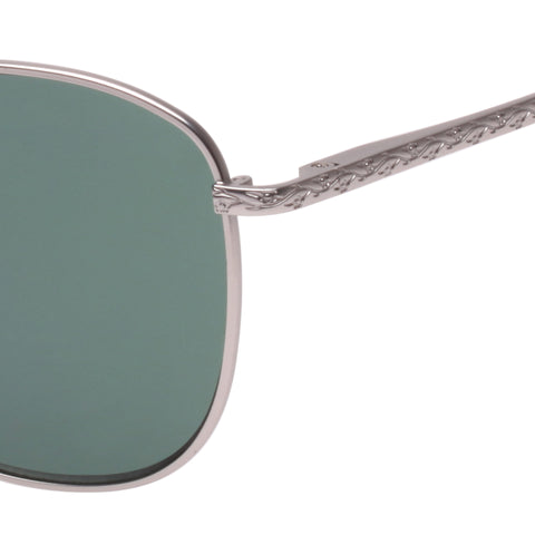 DAY GLO SILVER SUNGLASSES