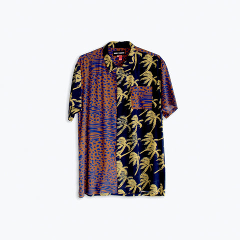 DOUBLE TROUBLE HAWAIIAN SHIRT