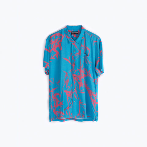 FLAME TREES HAWAIIAN SHIRT