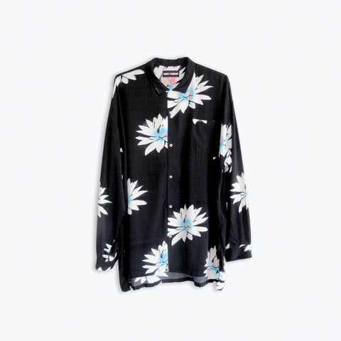 GLOSSY POSSY BLACK LONG SLEEVE SHIRT