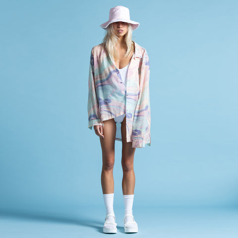 HONEY POT PASTEL LONG SLEEVE SHIRT