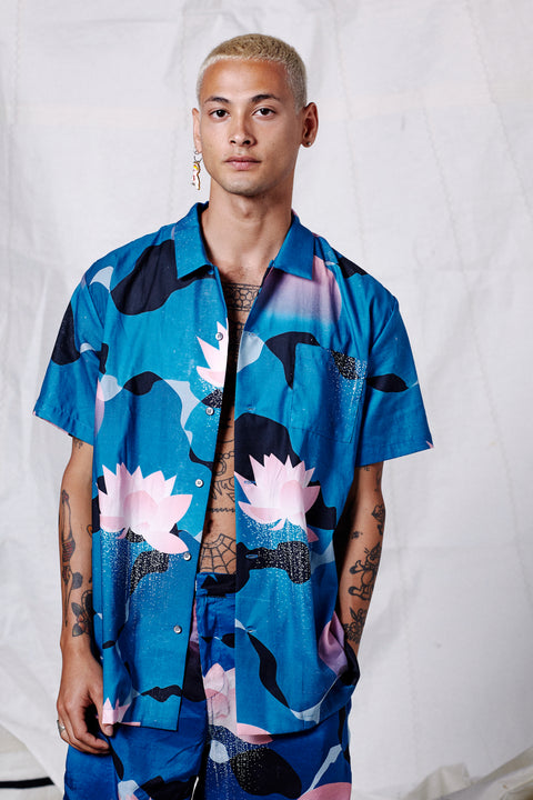 KYOTO SONG HAWAIIAN SHIRT