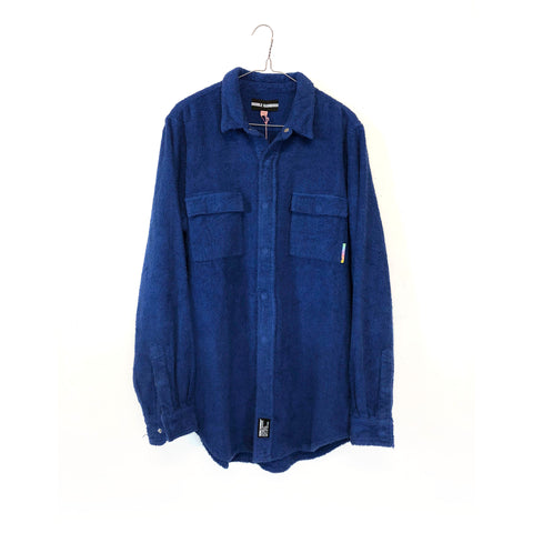 BLUE TOWELLING JUNGLE SHIRT