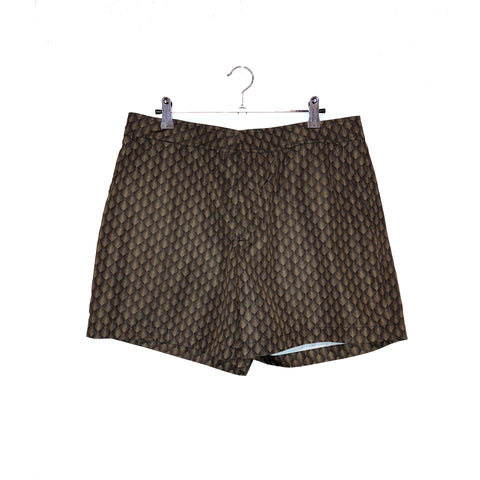BROWN DIAMOND POOL SHARK SHORT
