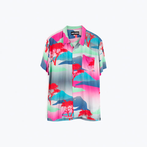 MOON SAFARI HAWAIIAN SHIRT