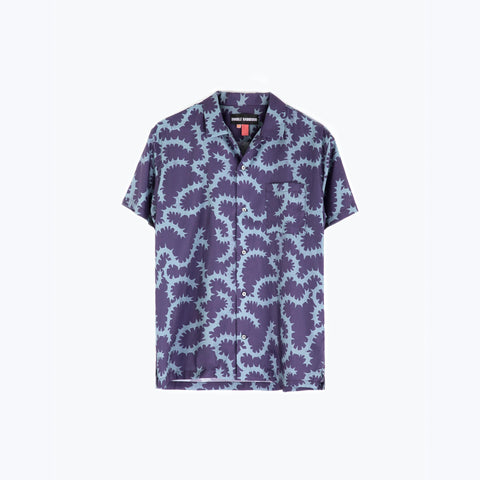 MORNING GLORY PLUM HAWAIIAN SHIRT