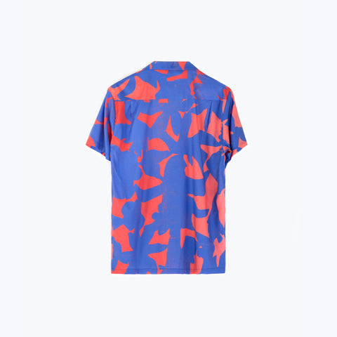 SUN CHILDREN BLUE HAWAIIAN SHIRT