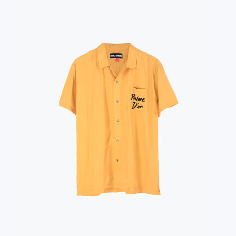 PALM YELLOW HAWAIIAN SHIRT