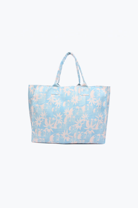 PARADISE CITY PINK BEACH BAG