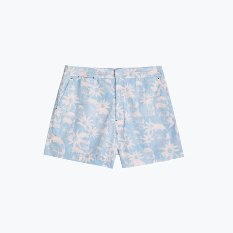 PARADISE CITY PINK POOL SHARK SHORT