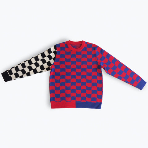 PIPE MASTER CREW KNIT