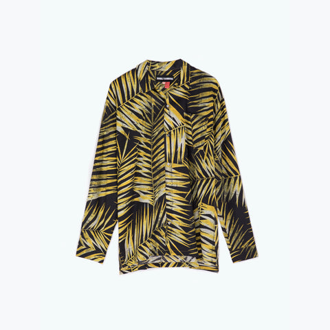 TIGER PALM LONG SLEEVE SHIRT