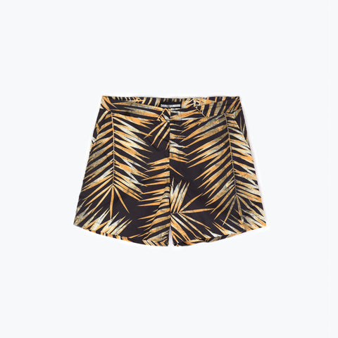 TIGER PALM SWIM SHORT