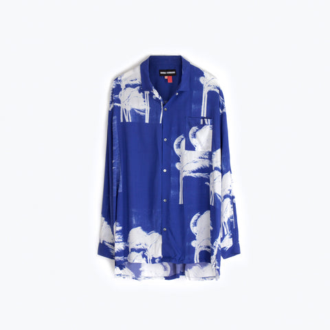 WINDY NICE BLUE LONG SLEEVE SHIRT