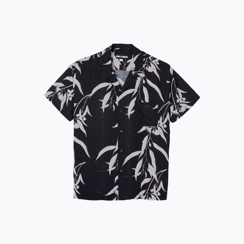 BLACK SUMMER HAWAIIAN SHIRT