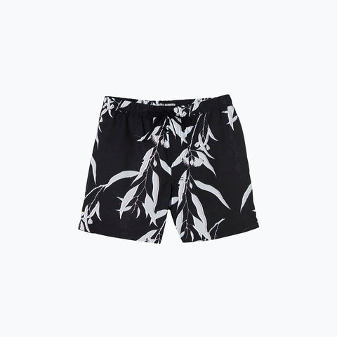BLACK SUMMER NIGHT SWIM SHORT