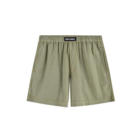 KHAKI GREEN BOXER SHORT