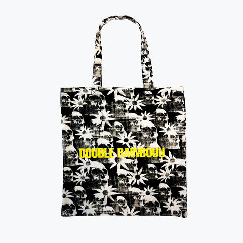 PARADISE CITY BLACK TOTE BAG
