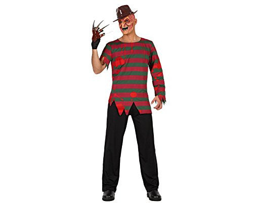 atosa 19542 Killer Costume Size Extra-Small - Small - Black/Red