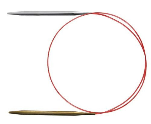 Addi Addilinos 3.5 mm Circular Needles with Red Cord