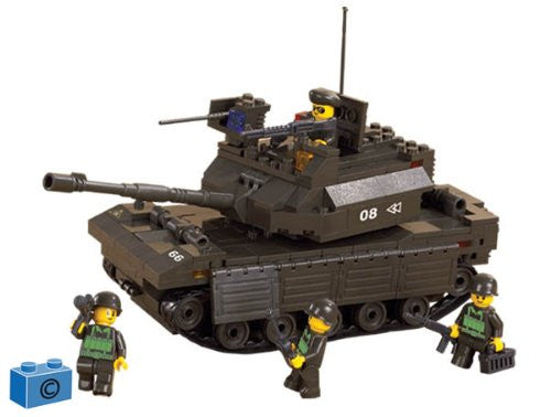 Sluban M38-B6500 Army Leading Tank