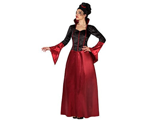atosa 19484 - Vampire Costume, size M/L, Black/Red