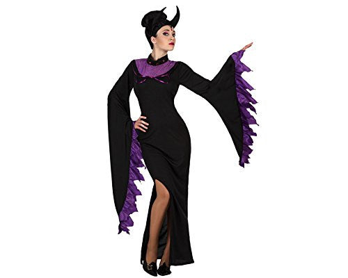 atosa 18721 Costume Queen of Darkness Costume - Adult - T-1