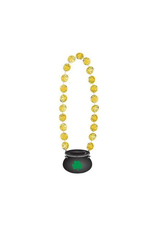 Amscan 398167 45 cm St. Patrick's Day Gold Coin Necklace