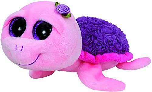 TY Beanie Boo Plush - Rosie the Pink Turtle 15cm