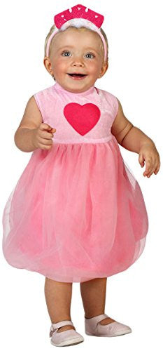 atosa 23739 - Princess Fancy Dress Costume Size 6 - 12 Months, Pink