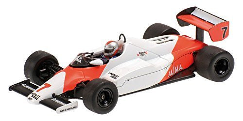 "Minichamps 1:43 Scale ""1983 McLaren Ford MP4 1C John Watson"" Car (White/Red)"