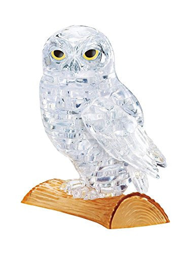 Crystal Puzzle 59164 - 3D Puzzle Owl (Clear)