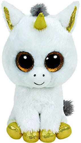 "Ty Beanie Boo 6"" Plush Pegasus the Unicorn"