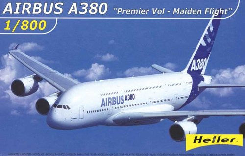 Heller 79845 Plastic Model Kit Airbus A380 Premier Flight