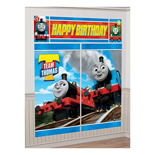 "Amscan International 670619 ""Thomas and Friends TBA"" Decoration Kit"