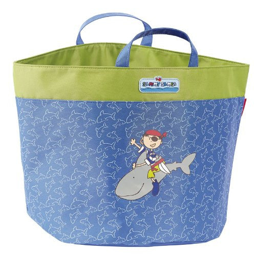 Sigikid 27 x 27 x 27 cm Sammy Samoa Storage Bag (Blue)