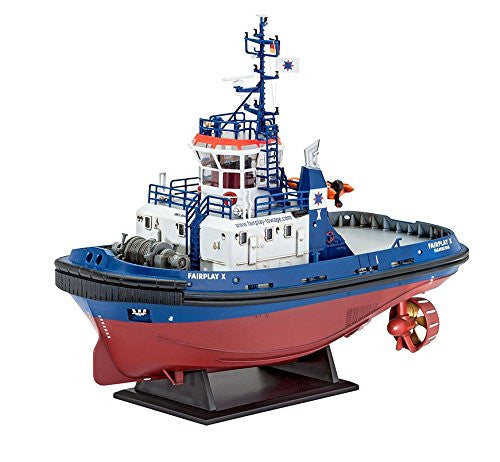 Revell Harbour Tug Boat Fairplay I/ III/ X/ XIV Plastic Model Kit