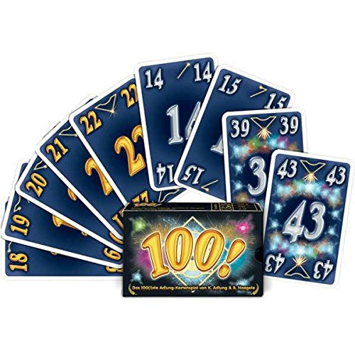 "Adlung ""100"" Card Game (Multi-Colour)"